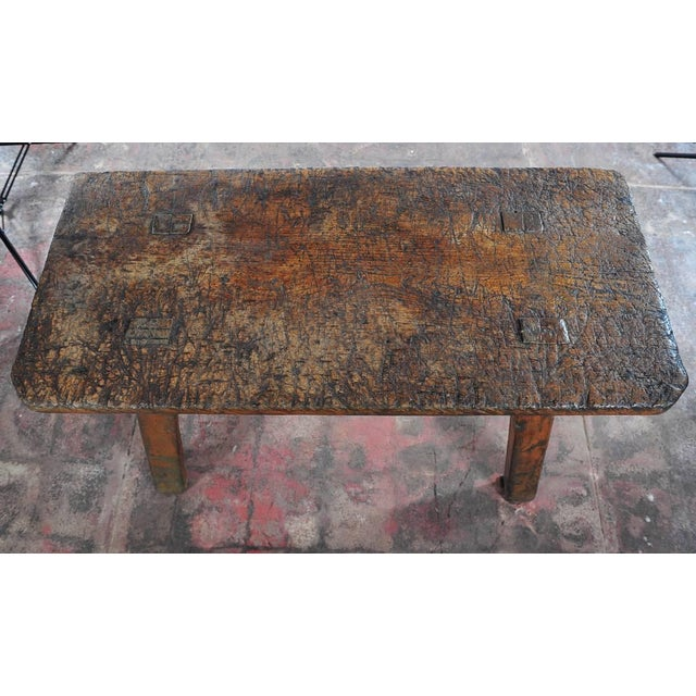 18th Century Antique French Rustic Farm Table - Image 3 of 11