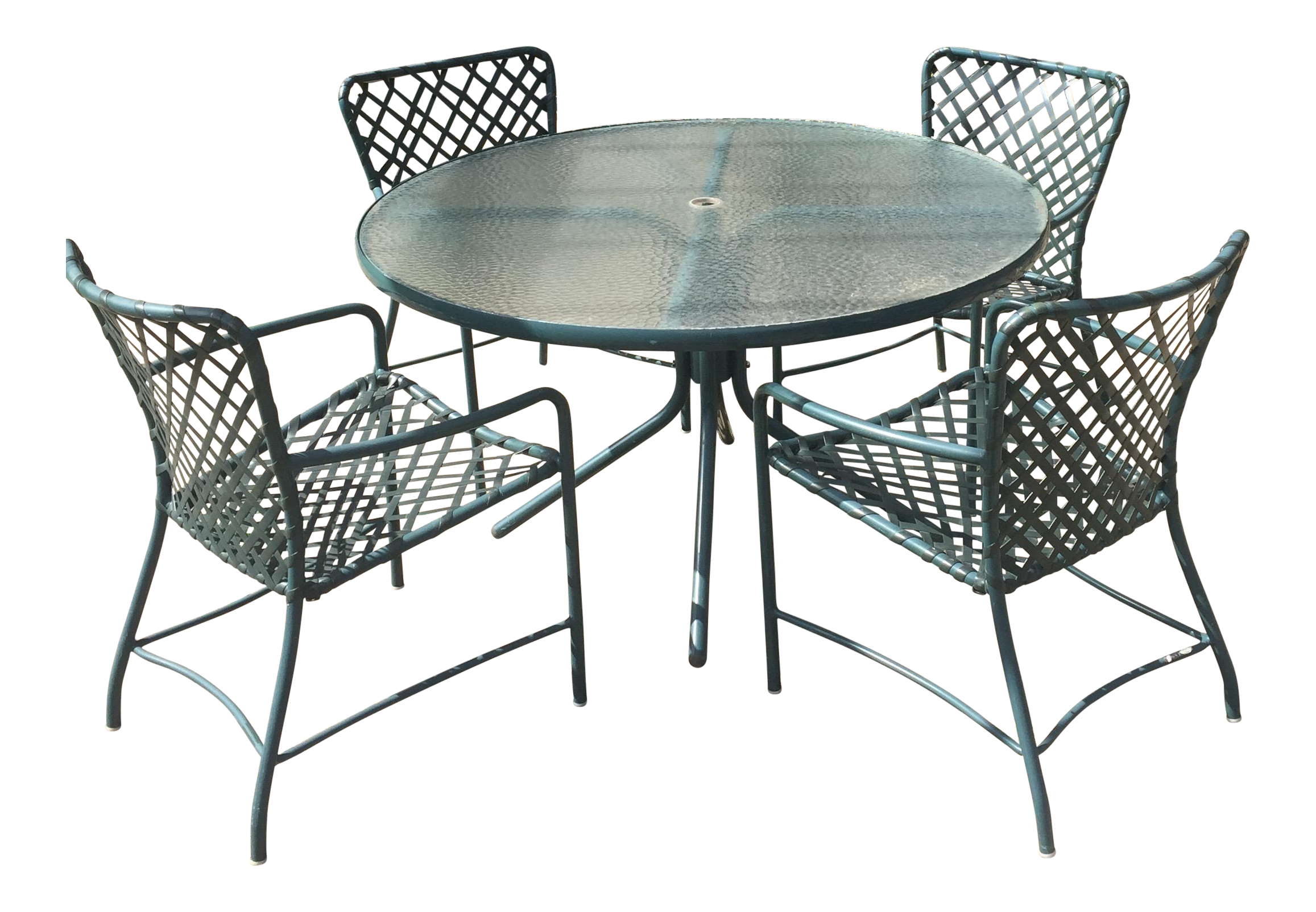 Great Brown Jordan Tamaimi Table And Chairs Part 30