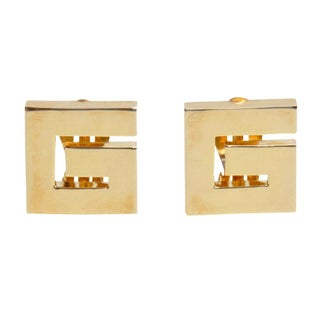 "Vintage Givenchy ""G"" Logo Earrings"