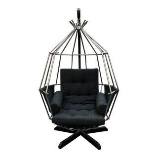 Ib Arberg Hanging Parrot Birdcage Chair