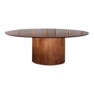 Art Deco Cherry Dining Table