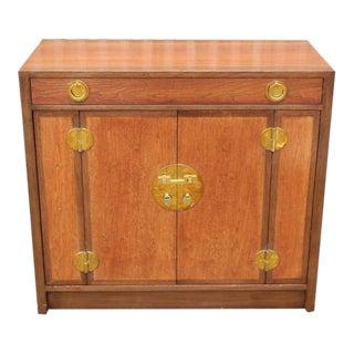 Walnut Bar Cabinet by Edward Wormley for Dunbar
