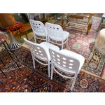 Image of Bentwood & Ply Seat Dining Chairs - Set of 4