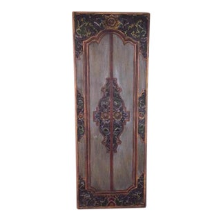 Indonesian Style Door Panel