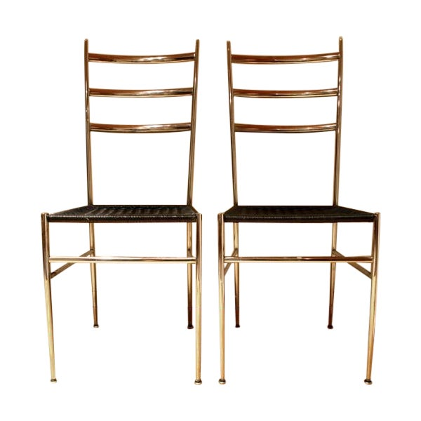 Ponti / Starck Superleggera Ladderback Chairs - 2 - Image 1 of 5