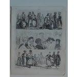 Image of Antique Print Different Races & Cultures