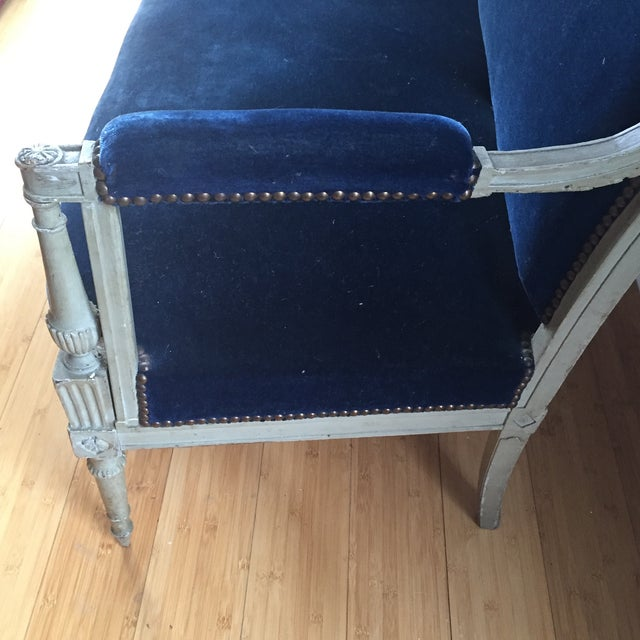 French directoire antique canap sofa chairish for Canape directoire