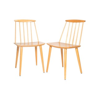 Folke Palsson for Fdb Mobler J77 Chairs - A Pair