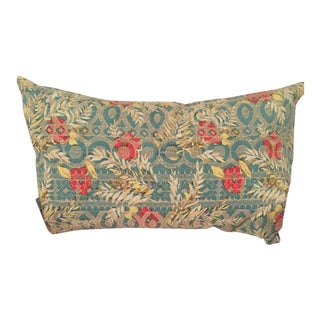 Pottery Barn Floral Lumbar Pillow