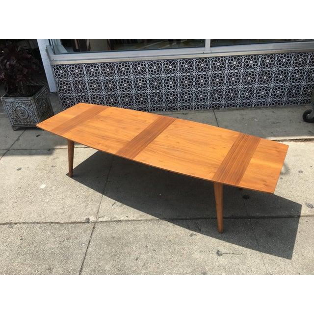 Mid Century Surfboard Coffee Table At 1stdibs: Mid-Century Surfboard Coffee Table