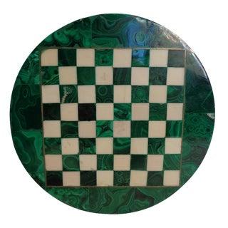 Malachite Chessboard