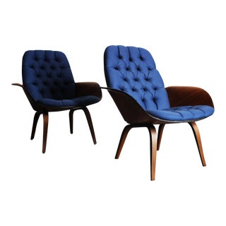 George Mulhauser for Plycraft Lounge Chairs - Pair