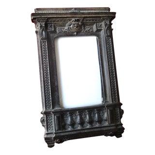 Antique Gutta Percha Frame From the Civil War Era