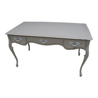 French Provincial Painted Desk Table