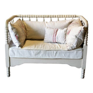 Antique Reclaimed Bedframe Settee