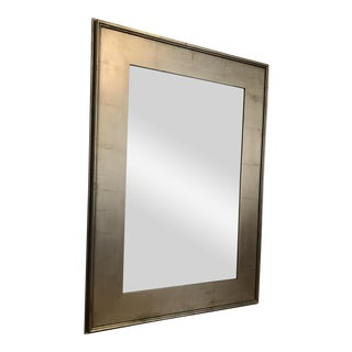 Pottery Barn Metallic Finish Wood Frame Mirror