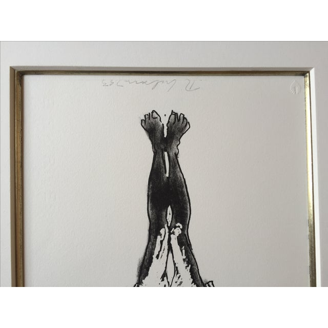 Fine Art Nude Etching - Image 4 of 4