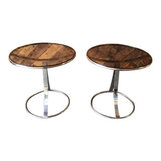 Gardner Leaver for Steelcase Side Tables - Pair
