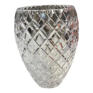 Ceska Clear Crystal Vase
