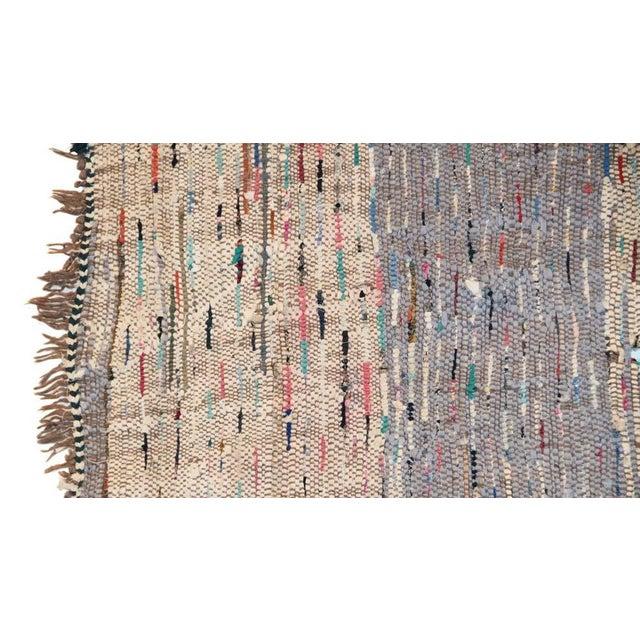 "Vintage Boucherouite Moroccan Carpet - 7' X 4'4"" - Image 4 of 4"