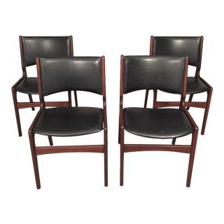 Danish Mid-Century Dinning Chairs - Set of 4