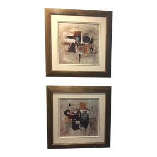 Framed Canvas Art - A Pair