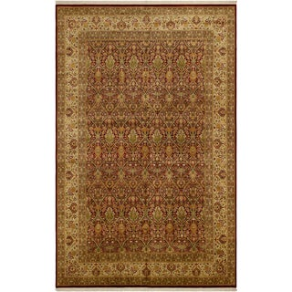 "Heritage Lyda Red & Gold Wool Rug - 10'3"" x 15'10"""