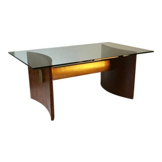 Kagan Style Walnut Dining Table