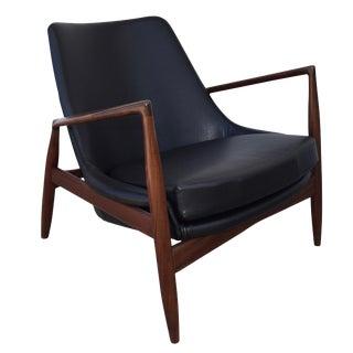 "Kofod Larsen Danish Modern Teak ""Seal"" Chair"
