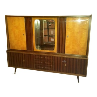 Mid-Century Modern German Media Center