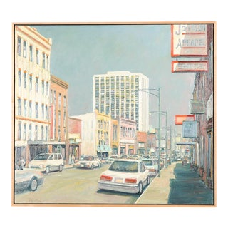 Mark Horton Los Angeles City Street Oil Painting