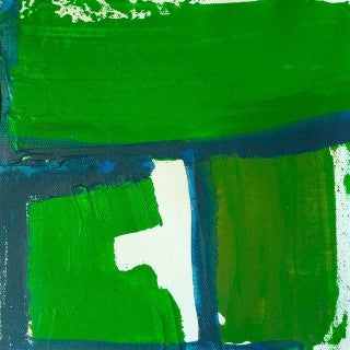 'Lush' Original Abstract Painting by Linnea Heide