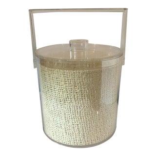 Mid-Century Acrylic Ice Bucket