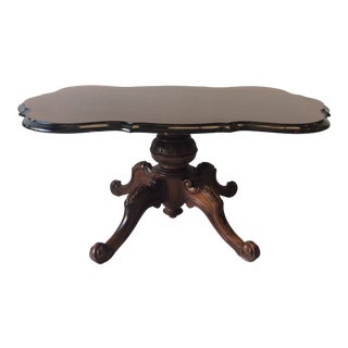 Rococo Scalloped Coffee Table