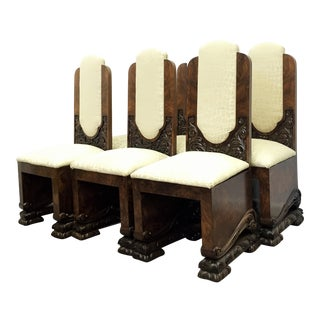 Art Deco Dining Chairs - set of four