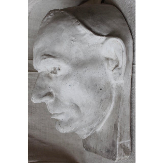 Image of Plaster Abraham Lincoln Head/Mask