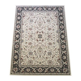Vines Floral Traditional Ivory Rug - 8' X 11'