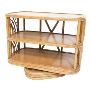 Frankl Style Swivel Console Table