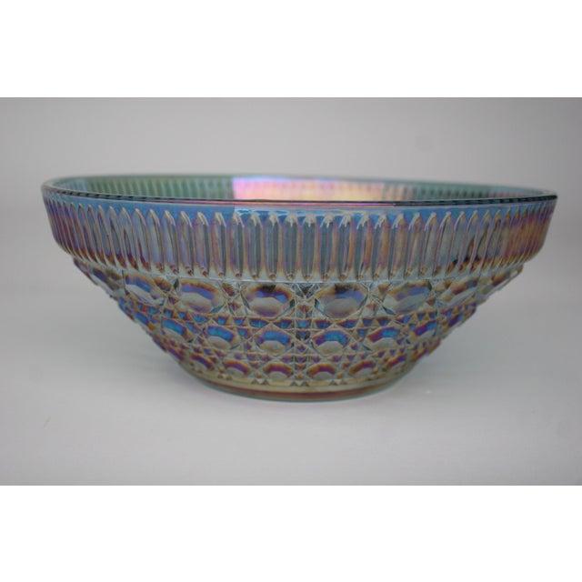 Image of Vintage Iridescent Glass Bowl