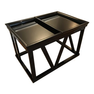Piano Black Side Table