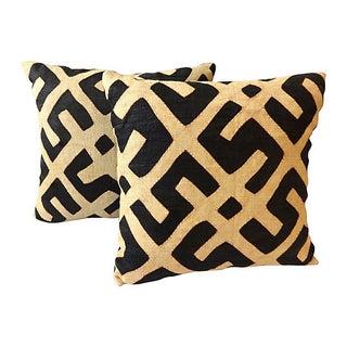 Kuba Textile Pillows - A Pair