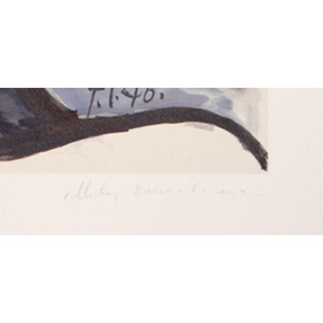 Pablo Picasso Lithograph - Tete De Homme - Image 2 of 2