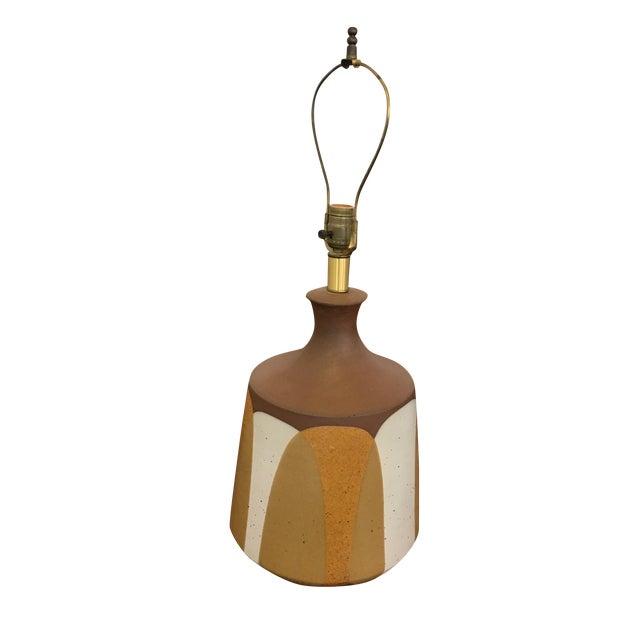 Image of Ceramic Flame Series Lamp by David Cressey