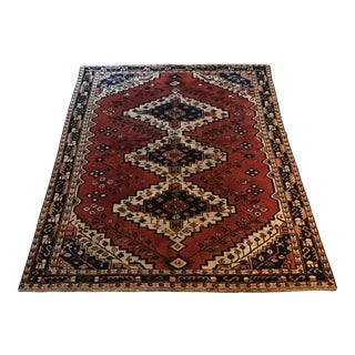 "Old Persian Lilihan Malayer Rug - 4'1"" x 6'6"""