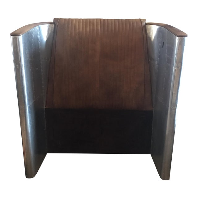 Image of Restoration Hardware Twin Aviator Headboard