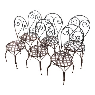 Outdoor Moroccan Patio Chairs - Set of 6