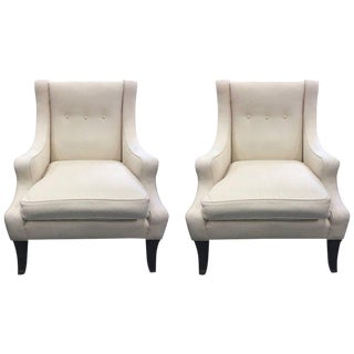 Pair of Lounge Chairs Style of Robsjohn-Gibbings