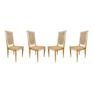 Distressed Dining Chairs - Set of 4