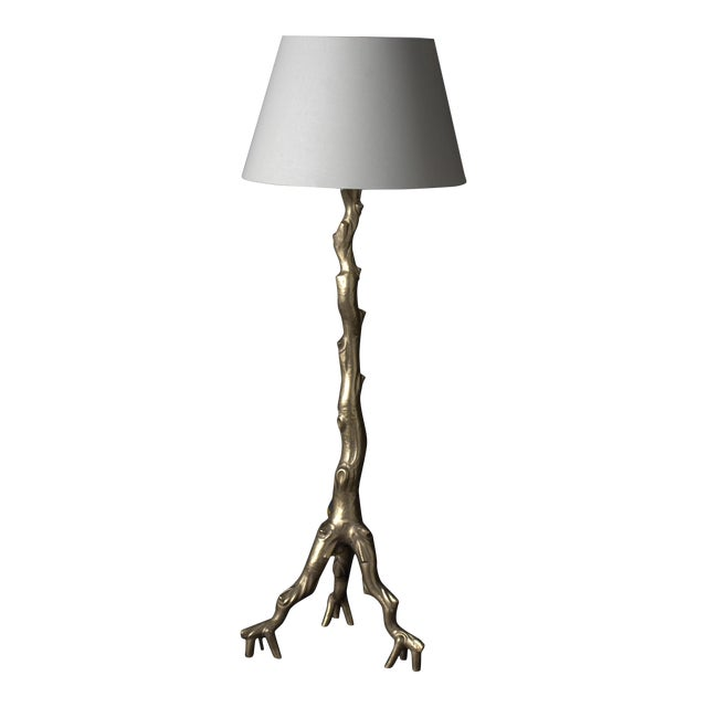 Twig Floor Lamp - 24K Gold Plate - Image 1 of 3