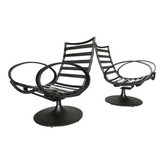 Tropitone Outdoor Lounge Chairs - A Pair